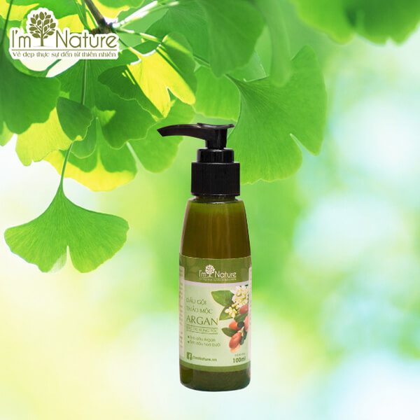 Dau Goi Thao Moc Argan Im Nature 100ml