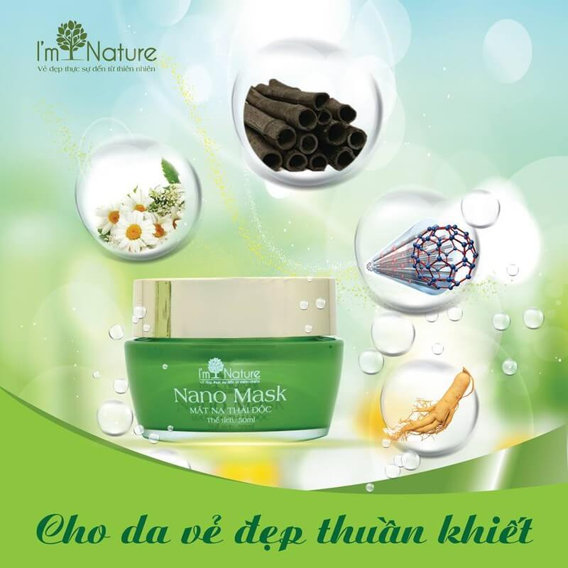 Mat Na Thai Doc Nano Mask Im Nature 2