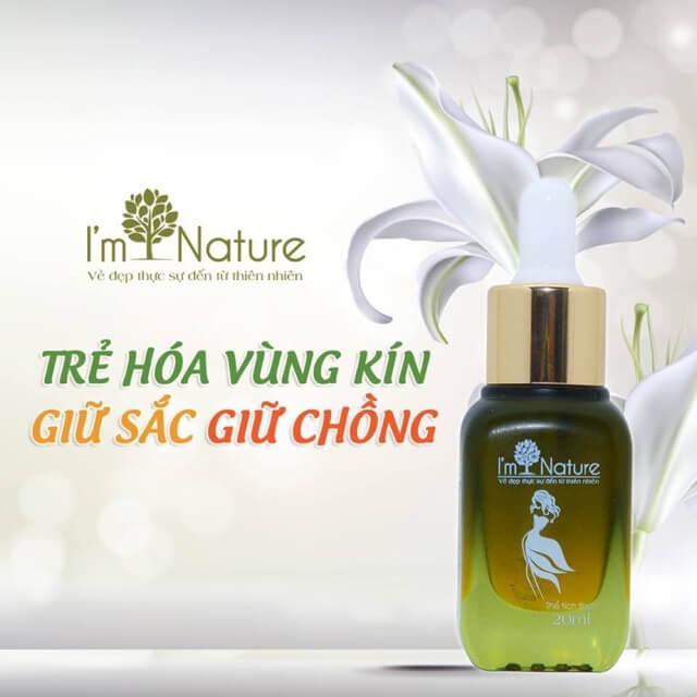 Serum Lam Hong Nhu Hoa Va Vung Kin Imnature 1
